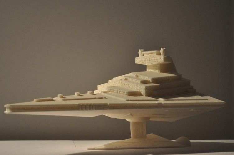 Imperial Cruiser - Star Destroyer (32cm) 3D Print 168524