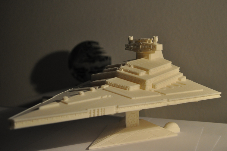 Imperial Cruiser - Star Destroyer (32cm) 3D Print 168525
