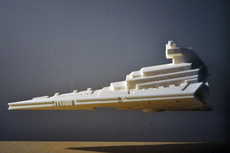 Imperial Cruiser - Star Destroyer (32cm) 3D Print 168526
