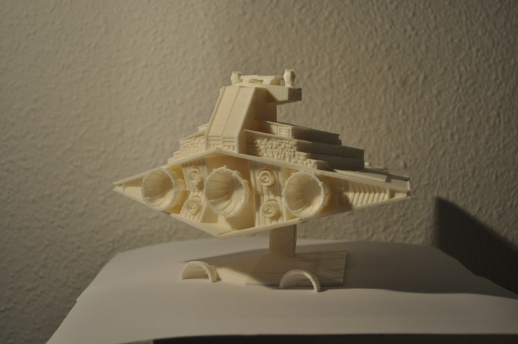 Imperial Cruiser - Star Destroyer (32cm) 3D Print 168528