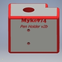 Small P802M Pen Holder 3D Printing 168610