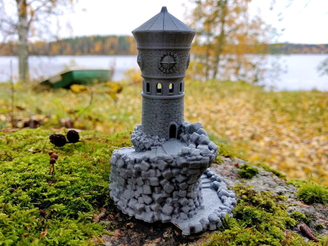 Forbidden Watchtower 3D Print 168832