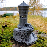 Small Forbidden Watchtower 3D Printing 168832