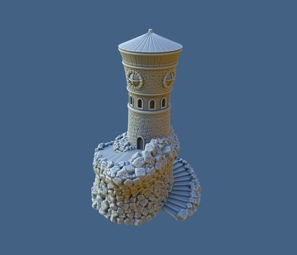 Forbidden Watchtower 3D Print 168838