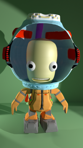 Personage from KSP 3D Print 168883