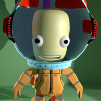 Small Personage from KSP 3D Printing 168883