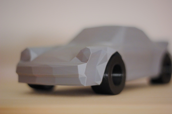 Medium Low-Poly 911 Turbo 3D Printing 169113