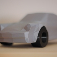 Small Low-Poly 911 Turbo 3D Printing 169113