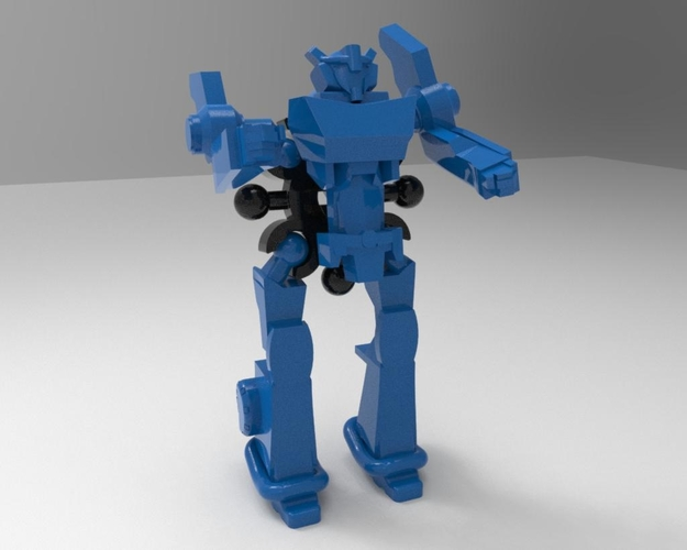 Robot in disguise k toy style, ready to print!  3D Print 169174