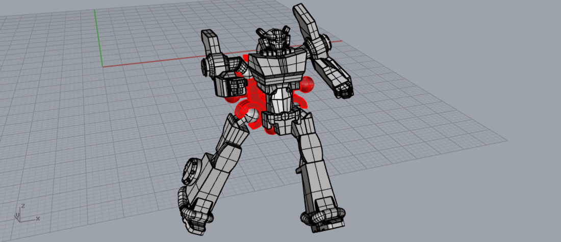 Robot in disguise k toy style, ready to print!  3D Print 169176