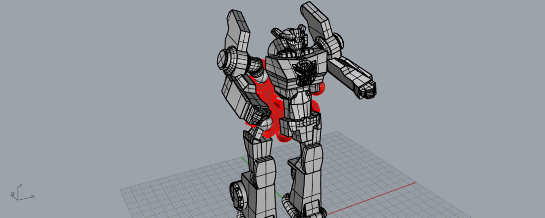 Robot in disguise k toy style, ready to print!  3D Print 169178