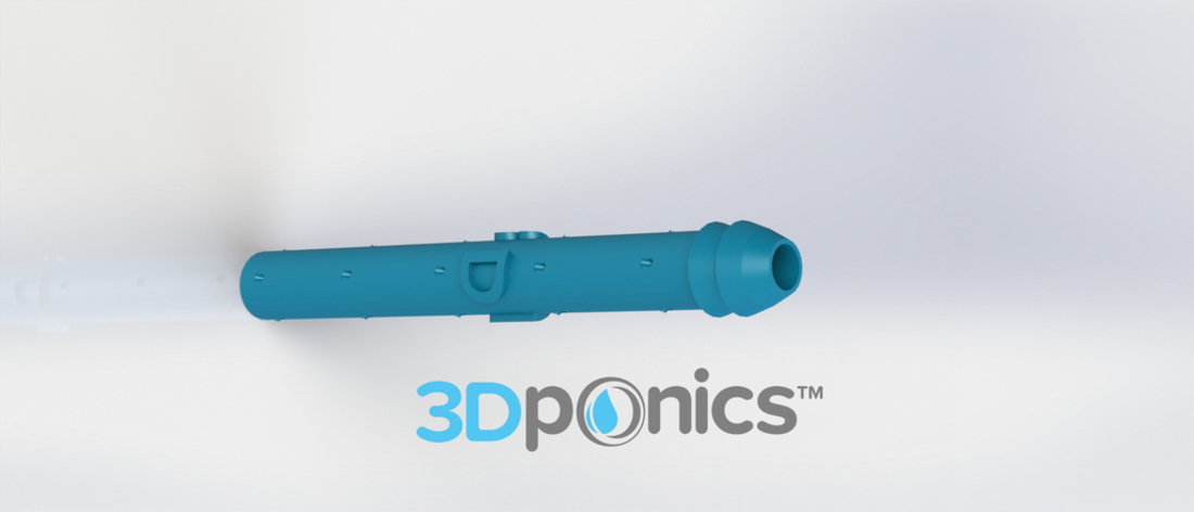 Sprinkler for Roots (3/8 inch) - 3Dponics Drip Hydroponics 3D Print 16934