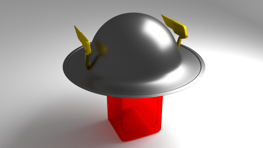FLASH'S HELMET 3D Print 169674