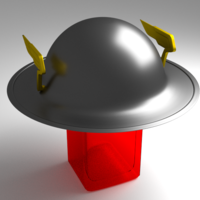 Small FLASH'S HELMET 3D Printing 169674