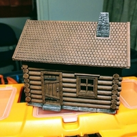Small Log Cabin 3D Printing 169823