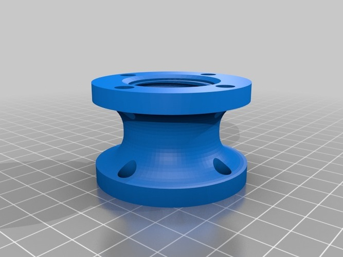 Bottle Connector (Small) - 3Dponics Open-Source Gardening 3D Print 17015