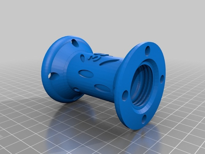 Bottle Connector (Large) - 3Dponics Open-Source Gardening 3D Print 17018