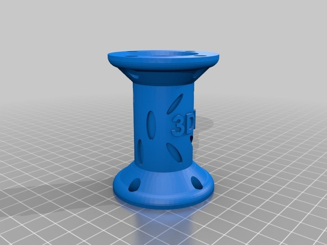 Bottle Connector (Large) - 3Dponics Open-Source Gardening 3D Print 17022
