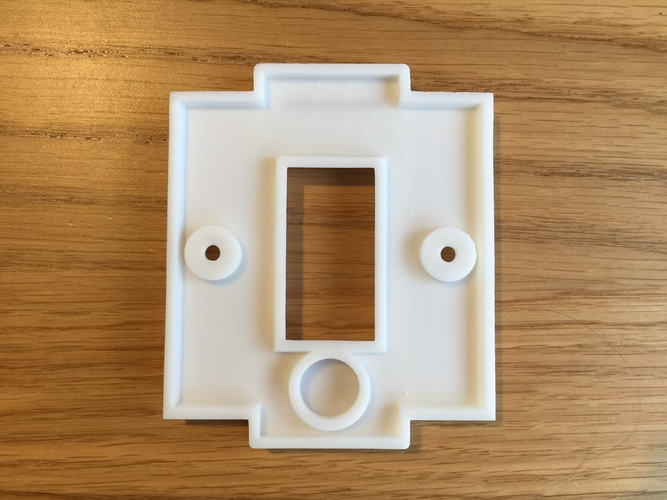Hue UK Switch Plate Cover 3D Print 170324