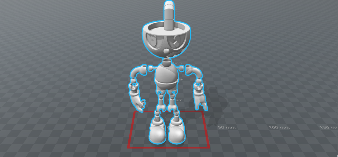 CUPHEAD - ACTION FIGURE 3D Print 170424