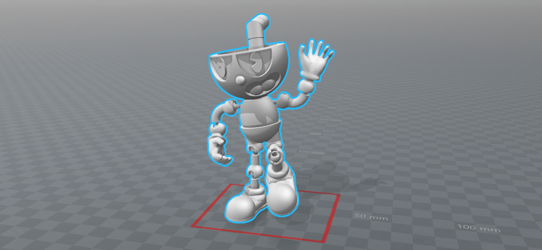 CUPHEAD - ACTION FIGURE 3D Print 170425