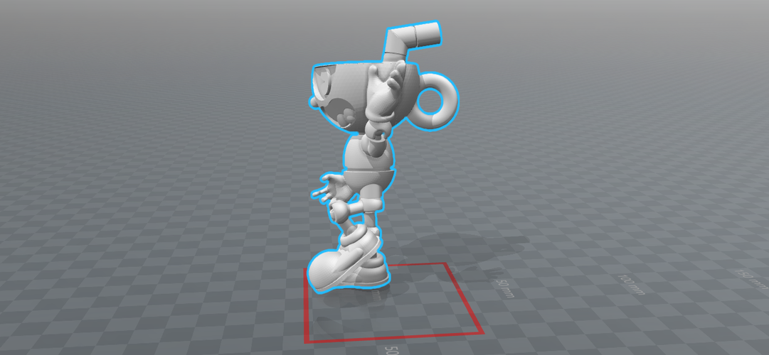 CUPHEAD - ACTION FIGURE 3D Print 170426