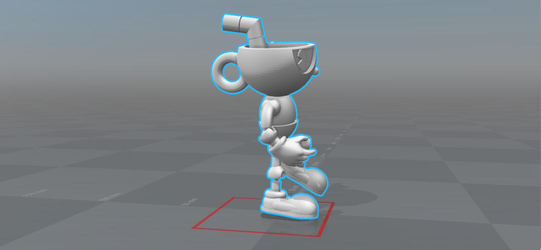CUPHEAD - ACTION FIGURE 3D Print 170428