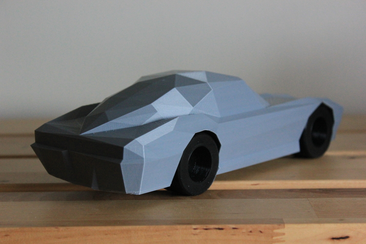 Low-Poly 1964 Stingray 3D Print 170479