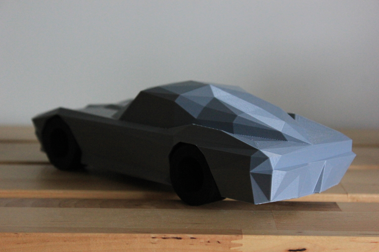 Low-Poly 1964 Stingray 3D Print 170480