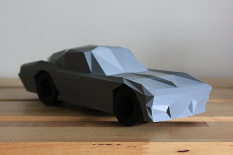 Low-Poly 1964 Stingray 3D Print 170482