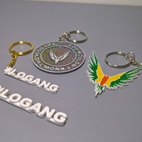 Small Maverick and #logang keychain 3D Printing 170490