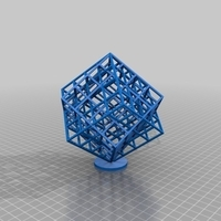 Small lattice Cubes 3D Printing 170498