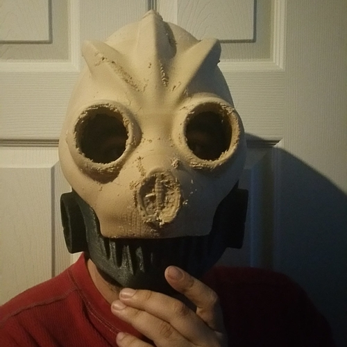 Graffiti Bot Helmet  ( Mad Max Looking Helmet ) 3D Print 170520