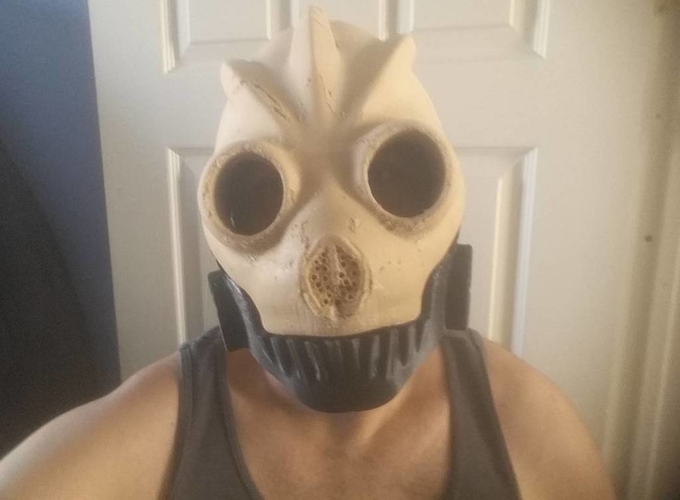 Graffiti Bot Helmet  ( Mad Max Looking Helmet ) 3D Print 170521