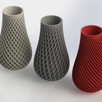 Small Spiral Vase 3D Printing 17061
