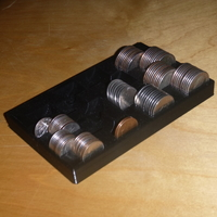 Small Coin Counting Tray 3D Printing 170678