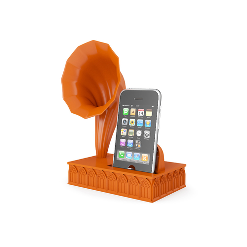 Gramophone Amplifier for Iphone 6 3D Print 170990