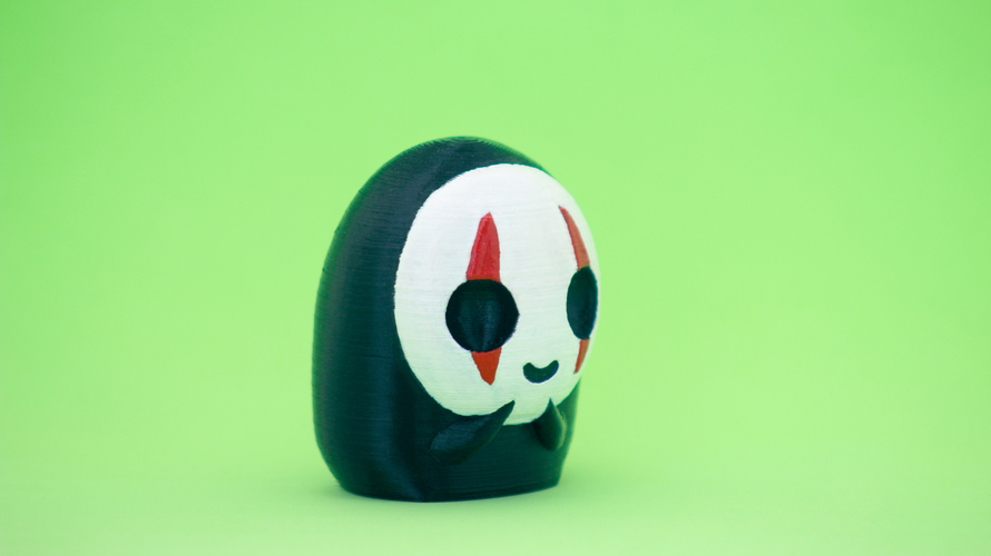 Faceless - Spirited Away  CHIBI 3D Print 171057