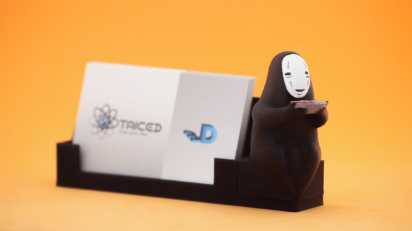 Medium Faceless - Spirited Away / Box for CardHolder1 3D Printing 171062