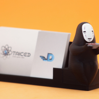 Small Faceless - Spirited Away / Box for CardHolder1 3D Printing 171062