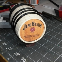 Small Whiskey Barrel 3D Printing 171064