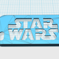 Small Starwars iphone 5 case 3D Printing 17137