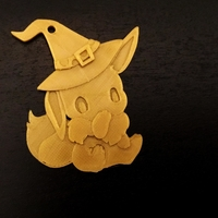 Small Eevee Halloween Special  3D Printing 171447
