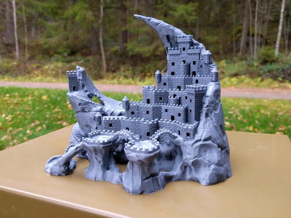 Medium Fortress of the Crescent 3D Printing 171462
