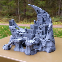 Small Fortress of the Crescent 3D Printing 171462