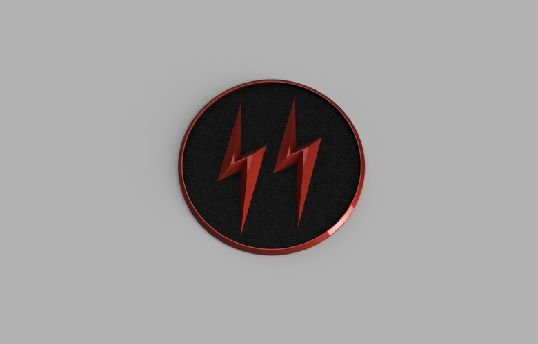 The Cw Crisis on Earth X Reverse Flash Emblem 3D Print 171524