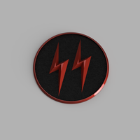 Small The Cw Crisis on Earth X Reverse Flash Emblem 3D Printing 171524