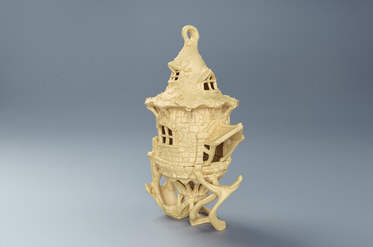BIRDHOUSE - 3 PIECES 3D Print 171579