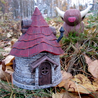 Small Fairy Hut 3D Printing 171590
