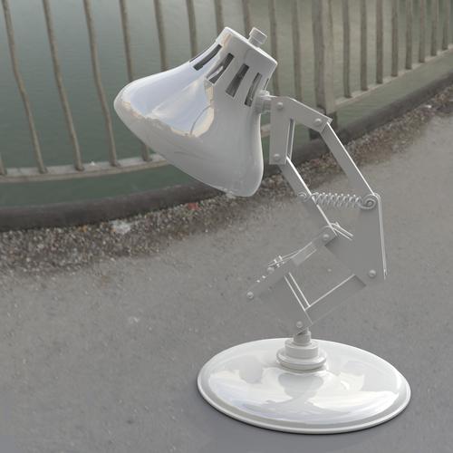 3d printed pixar lamp by sitherus pinshape